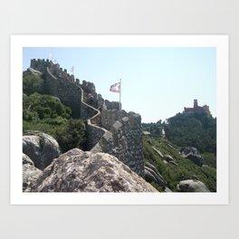 Moorish Castle Art Print