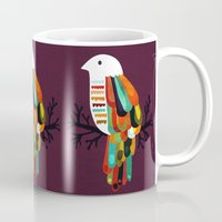 paradise Mugs featuring Paradise by Picomodi