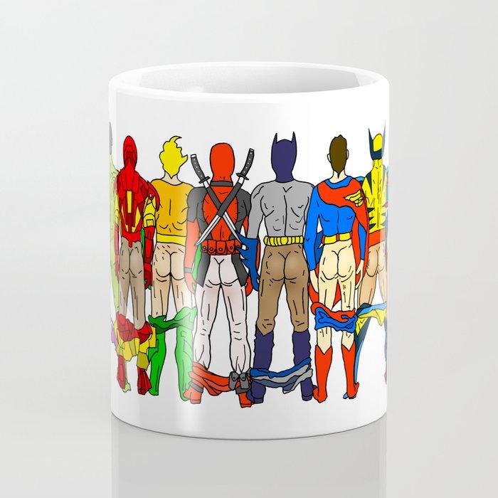 Superhero Butts Coffee Mug
