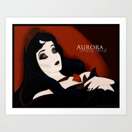 Sleeping Beauty: Aurora Art Print