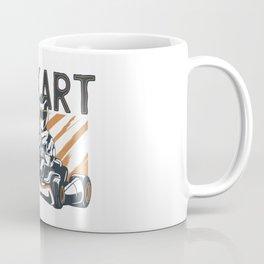 Go Kart Racer Coffee Mug