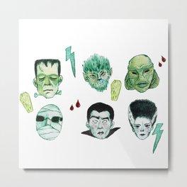 Monsters Metal Print
