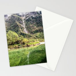 Earthy Mountain Stream // Hiking Bliss Incredible Views of the Beautiful Mountainscape Stationery Cards