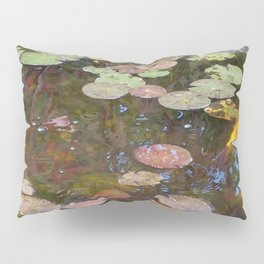 Koi Pond and Lilypads Pillow Sham