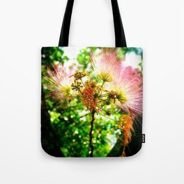 Mimosa Flower Tote Bag