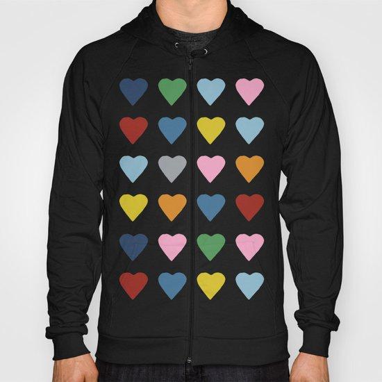 16 Hearts Hoody