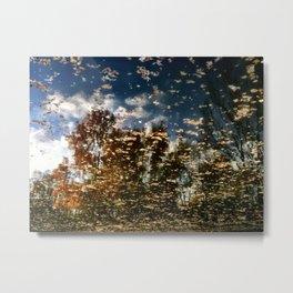 Autumn Water Metal Print