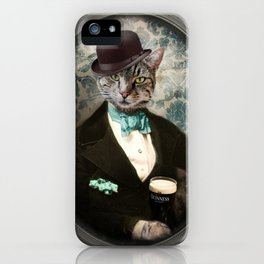 Lovely Day for a Guinness iPhone Case