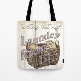 Vintage Laundry Room 2 Tote Bag