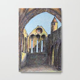 Rock of Cashel, County Tipperary, Ireland Metal Print