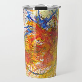 Branches Aflame with Flower Travel Mug