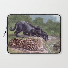 Jaguars Painting Laptop Sleeve