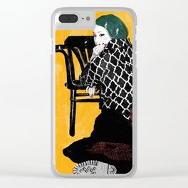 Veronica-y Clear iPhone Case