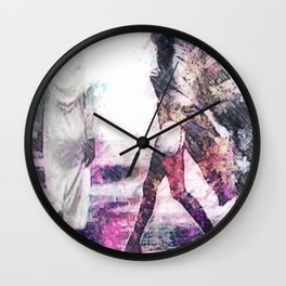 Old Kuwait with a twist. Wall Clock