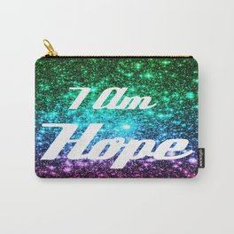 Galaxy Quotes: I AM Hope Carry-All Pouch