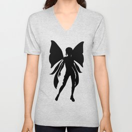 Faery Shadow Unisex V-Neck