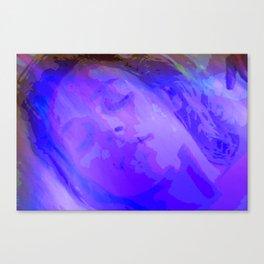 is an teanga a muscle cumhachtach Canvas Print