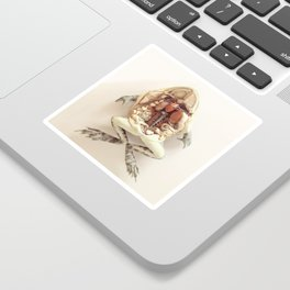 The Anatomical Frog Sticker