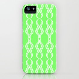 Lime Twist iPhone Case