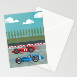 Retro Racing Stationery Cards