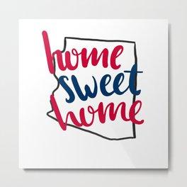 Home Sweet Home-U of Arizona Metal Print