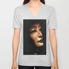 Queen collected from Egypt Unisex V-Neck