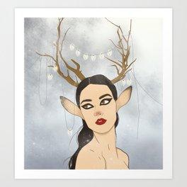 Cindy Art Print