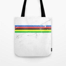 Jersey minimalist cycling Tote Bag