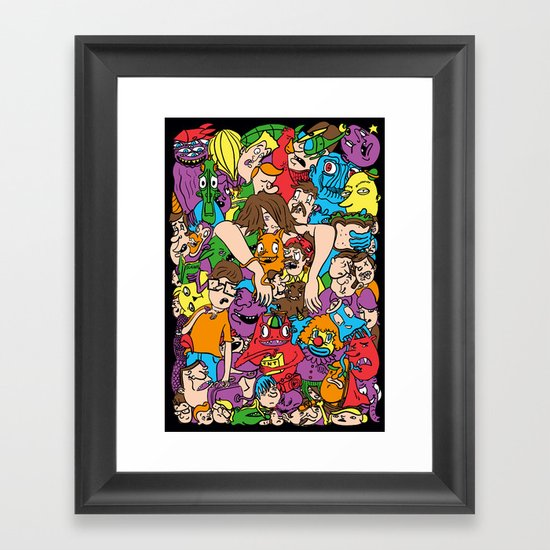 Party Time! #2 Framed Art Print