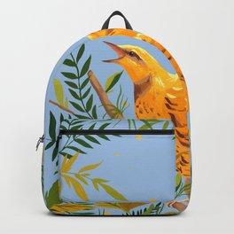 Yellow Bird Backpack