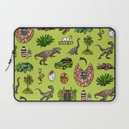 Jurassic pattern lighter Laptop Sleeve
