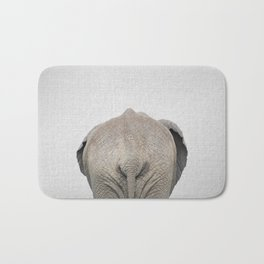 Elephant Tail - Colorful Bath Mat