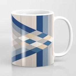 >> Wood Geometric Mountain >> Coffee Mug