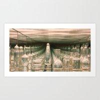 Perspective Mirrored Art Print
