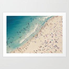 beach love V Art Print