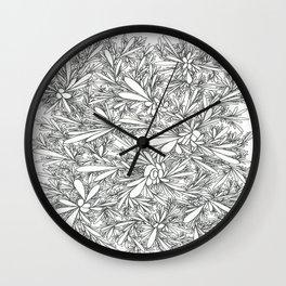 Black Growth Wall Clock
