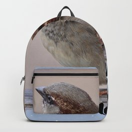 Two Birds on a Branch Backpack