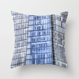 The Shard London abstract Throw Pillow