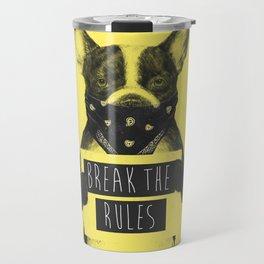 Rebel dog (yellow) Travel Mug