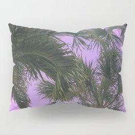 Purple Sky Palms Pillow Sham