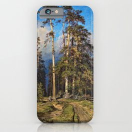 'The Word for World is Forest' by Ivan Shishkin iPhone Case