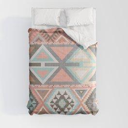 Aztec Artisan Tribal in Pink Comforters
