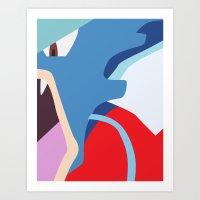 Close Up Art - Gya Art Print