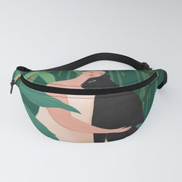 Green Comforting Fanny Pack