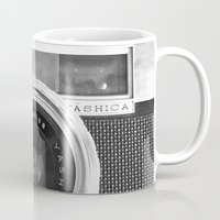 retro Mugs featuring Camera by Nicklas Gustafsson