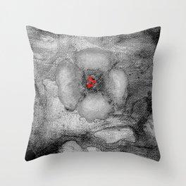 Grey Poppy S51 Throw Pillow