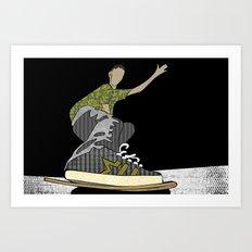 Skateboard 14 Art Print