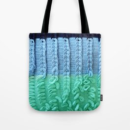 Knitted Pillow Tote Bag