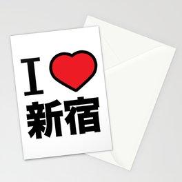 I Love Shinjuku Stationery Cards