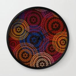 Indian Pattern Wall Clock
